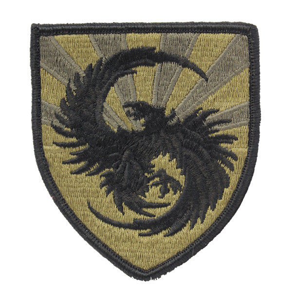 Army Patch: 111th Military Intelligence Brigade - embroidered on OCP