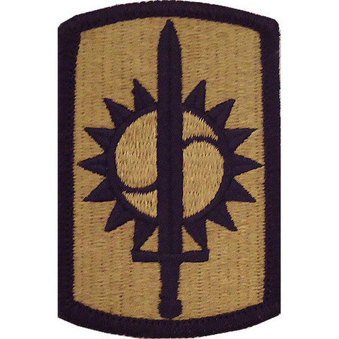 Army Patch: Eighth Military Police Brigade - embroidered on OCP