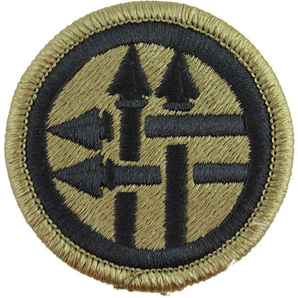 Army Patch: 220th Military Police Brigade - embroidered on OCP