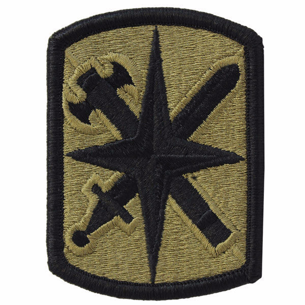 Army Patch: 14th Military Police Brigade - embroidered on OCP
