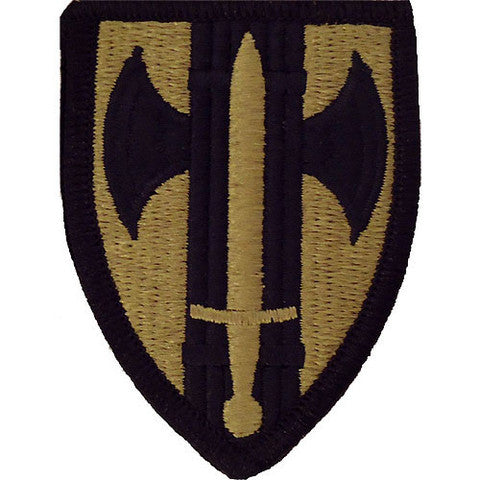 Army Patch: 18th Military Police Brigade - embroidered on OCP