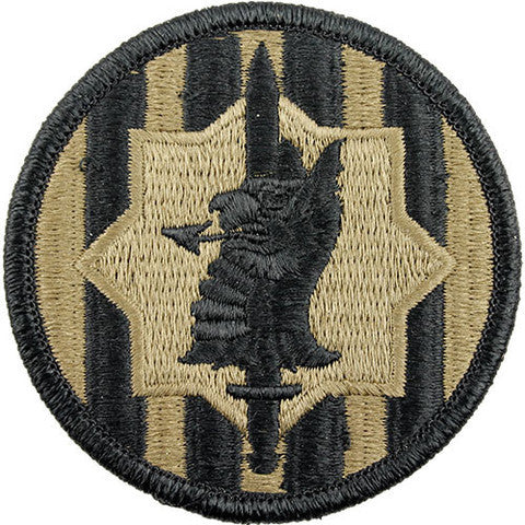 Army Patch: 89th Military Police Brigade - embroidered on OCP