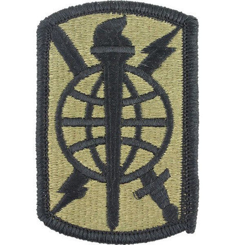 Army Patch: 500th Military Intelligence Brigade - embroidered on OCP
