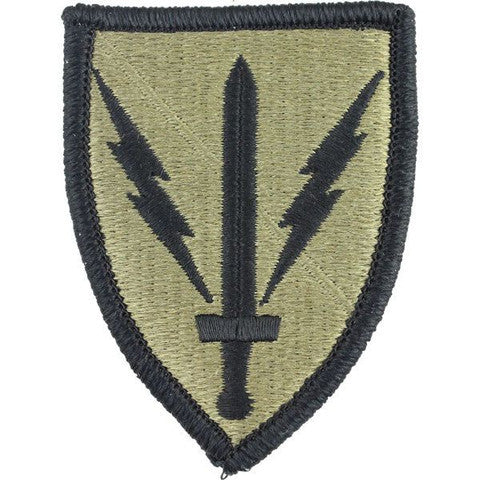 Army Patch: 201st Battlefield Surveillance Brigade - embroidered on OCP