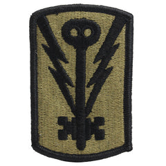 Army Patch: 501st Military Intelligence Brigade - embroidered on OCP