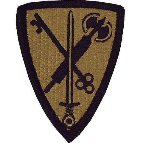 Army Patch: 42nd Military Police - embroidered on OCP