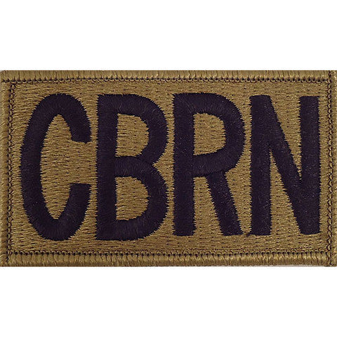 Army Patch: CBRN Letters - embroidered on OCP