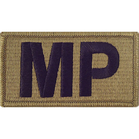 Army Patch: MP Letters - embroidered on OCP