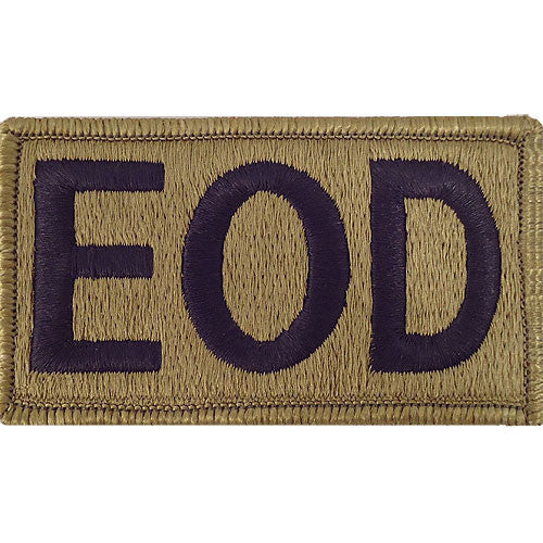 Army Patch: Explosive Ordnance Disposal - embroidered on OCP