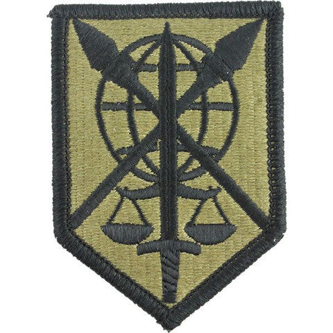 Army Patch: 200th Military Police Command - embroidered on OCP