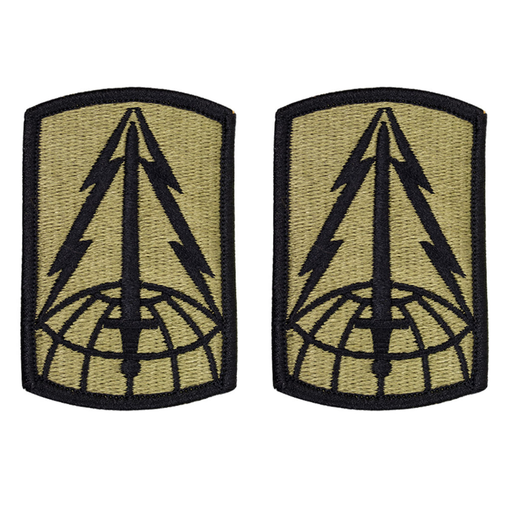 Army Patch: 116th Military Intelligence Brigade - embroidered on OCP