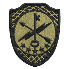Army Patch: 780th Military Intelligence Brigade - embroidered on OCP