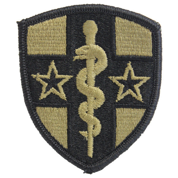 Army Patch: Army Reserve Medical Command - embroidered on OCP