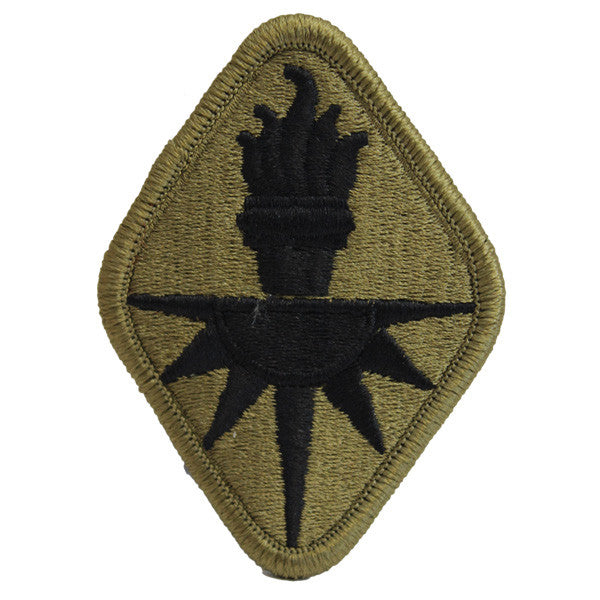 Army Patch: Military Intelligence School Center - embroidered on OCP