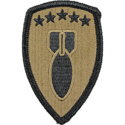 Army Patch: 71st Ordnance Group - embroidered on OCP