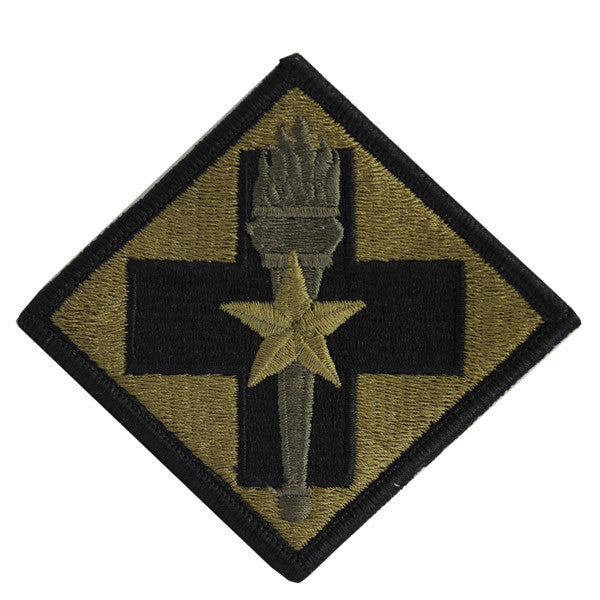 Army Patch: 32nd Medical Brigade - embroidered on OCP