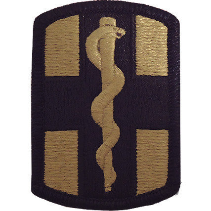 Army Patch: 1st Medical Brigade - embroidered on OCP
