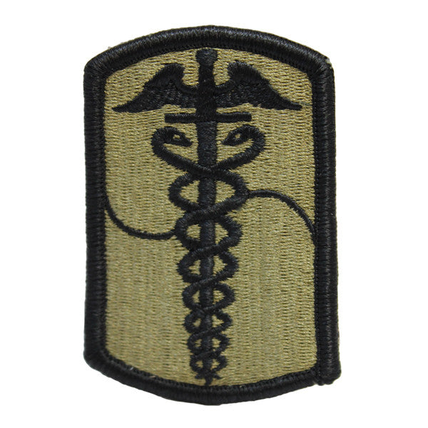 Army Patch: 65th Medical Brigade - embroidered on OCP