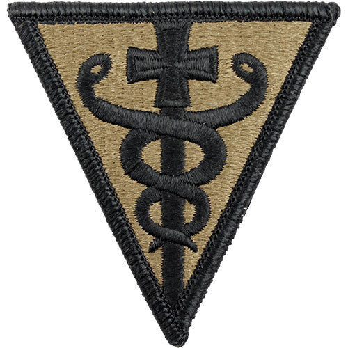 Army Patch: Third Medical Command - embroidered on OCP