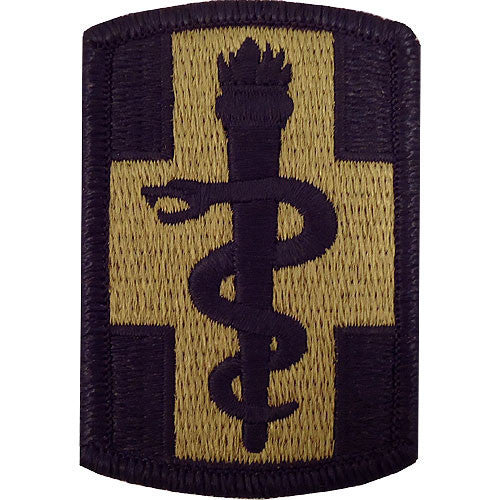 Army Patch: 330th Medical Brigade - embroidered on OCP