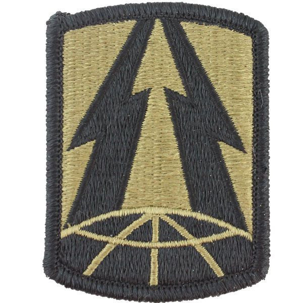 Army Patch: 335th Signal Command - embroidered on OCP