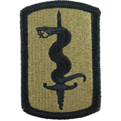 Army Patch: 30th Medical Brigade - embroidered on OCP