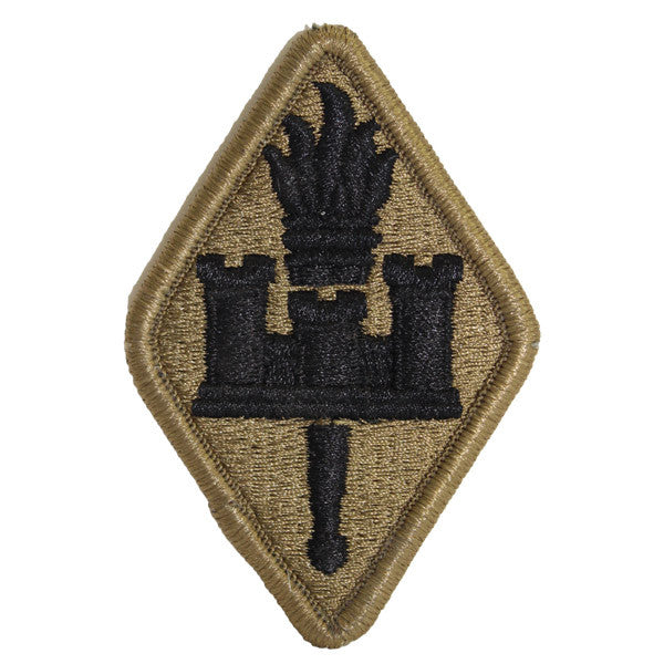 Army Patch: Engineer Training School - embroidered on OCP