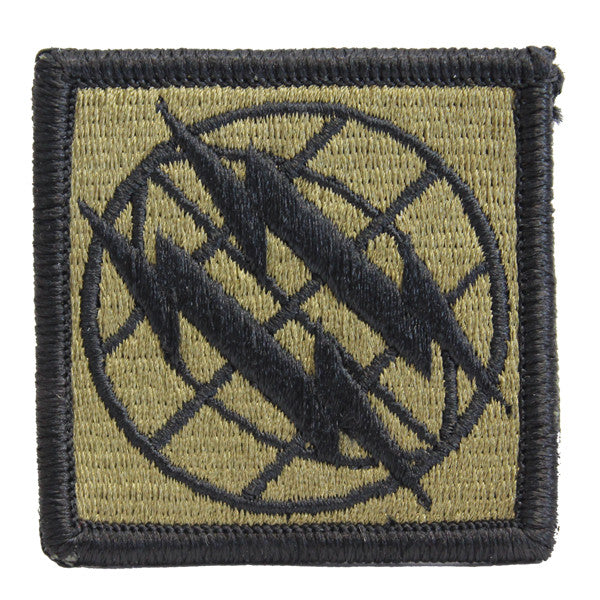 Army Patch: 2nd Signal Brigade - embroidered on OCP