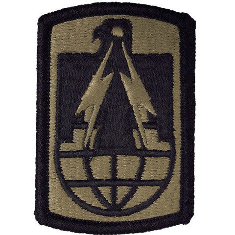 Army Patch: 11th Signal Brigade - embroidered on OCP