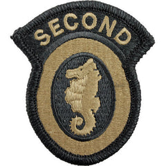 Army Patch: 2nd Engineer Brigade - embroidered on OCP
