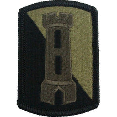 Army Patch: 168th Engineer Brigade - embroidered on OCP