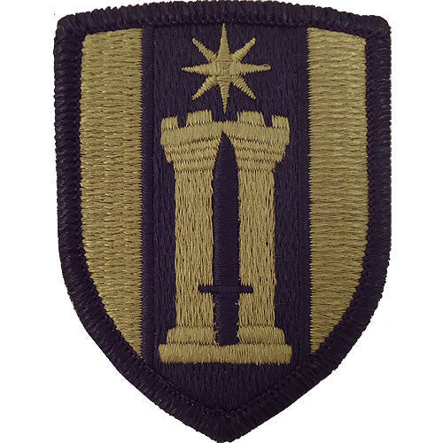 Army Patch: 372nd Engineer Brigade - embroidered on OCP