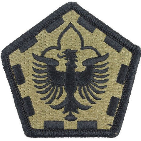 Army Patch: 555th Engineer Group - embroidered on OCP