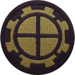 Army Patch: 35th Engineer Brigade - embroidered on OCP