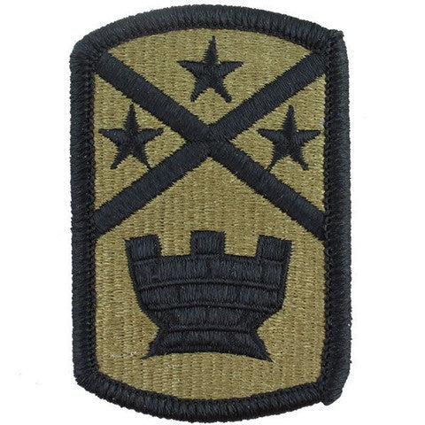 Army Patch: 194th Engineer Brigade - embroidered on OCP