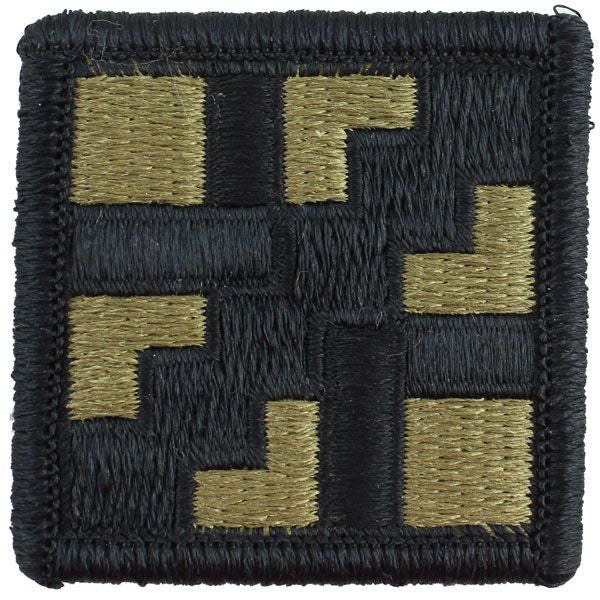 Army Patch: 411th Engineer Brigade - embroidered on OCP