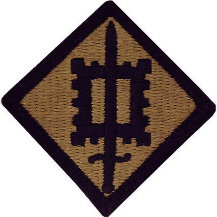 Army Patch: 18th Engineer Brigade - embroidered on OCP
