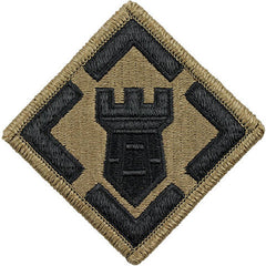 Army Patch: 20th Engineer Brigade - embroidered on OCP