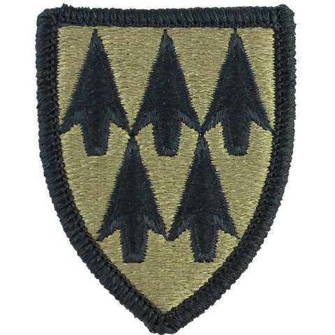 Army Patch: 32nd Air Defense Command - embroidered on OCP