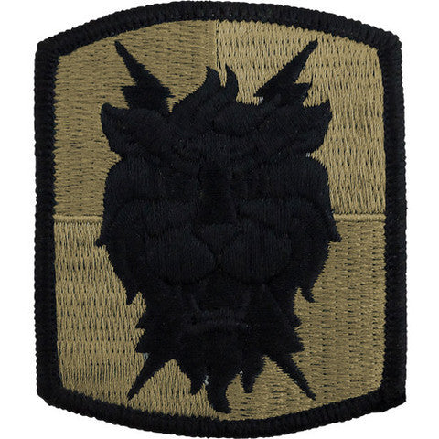 Army Patch: 35th Signal Brigade - embroidered on OCP