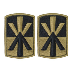 Army Patch: 11th Air Defense Artillery - embroidered on OCP