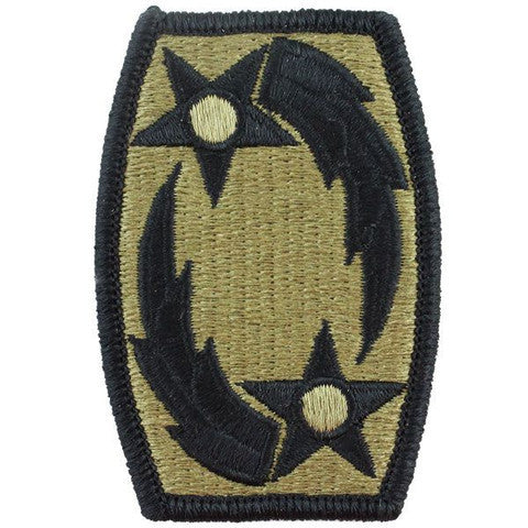 Army Patch: 69th Air Defense Artillery - embroidered on OCP