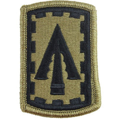 Army Patch: 108th Air Defense Artillery Brigade - embroidered on OCP