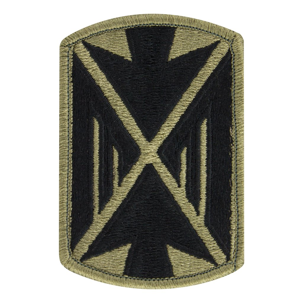 Army Patch: 10th Air Defense Arty Brigade - embroidered on OCP