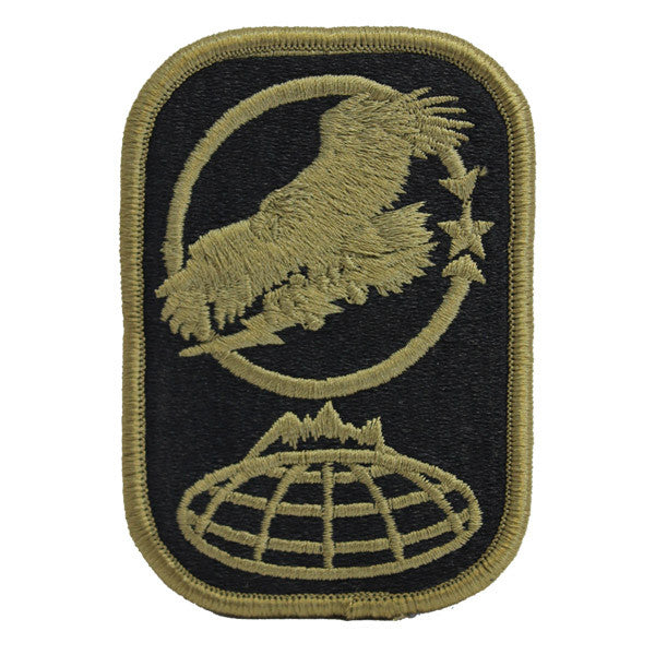 Army Patch: 100th Missile Defense Brigade embroidered on OCP