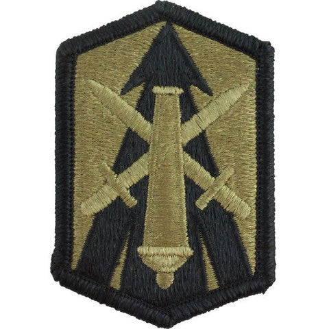 Army Patch: 214th Fires Brigade - embroidered on OCP