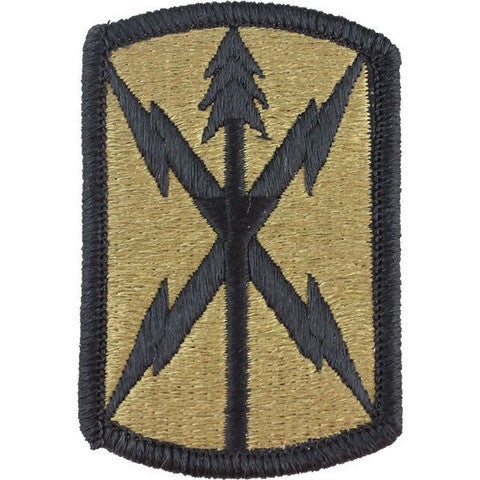 Army Patch: 516th Signal Brigade - embroidered on OCP