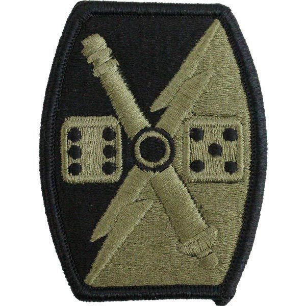 Army Patch: 65th Fires Brigade - embroidered on OCP