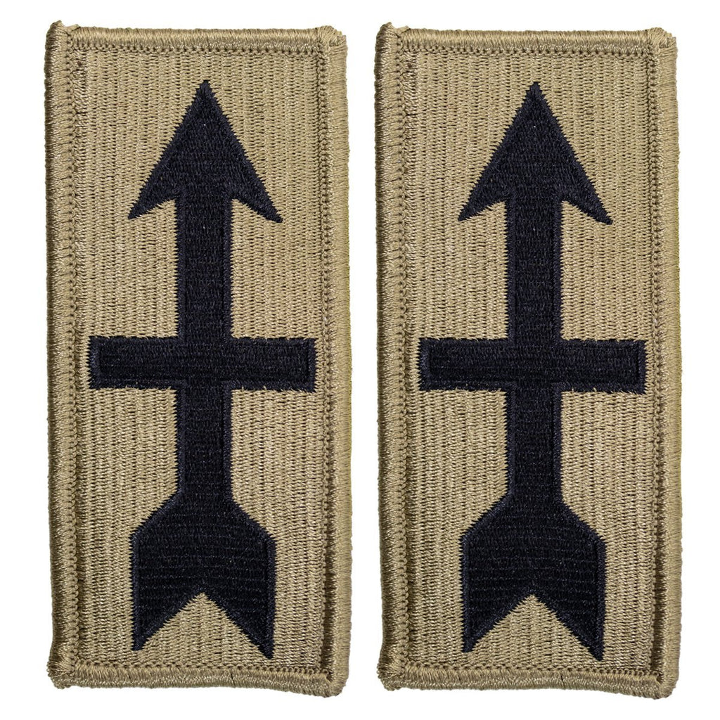 Army Patch: 32nd Infantry Brigade - embroidered on OCP