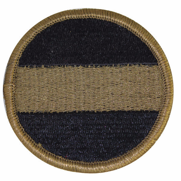 Army Patch: Army Forces Command: FORSCOM - embroidered on OCP
